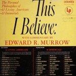 Edward R. Murrow - This I Believe (2LP)