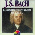 J. S. Bach - Das Wohltemperierte Klavier Teil 1, No. 1 - 12 (CD)