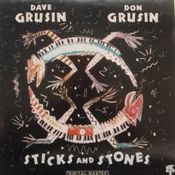 Dave Grusin, Don Grusin - Sticks And Stones (LP)