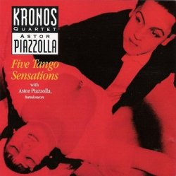 Astor Piazzolla, Kronos Quartet With Astor Piazzolla - Five Tango Sensations (CD)