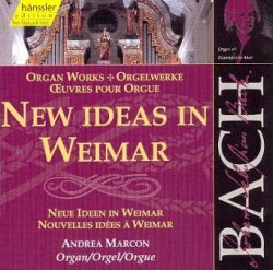 Andrea Marcon - New Ideas in Weimar (CD)