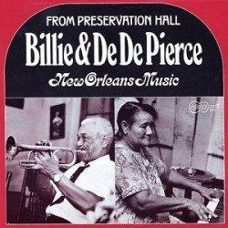 Billie & De De Pierce - New Orleans Music (LP)