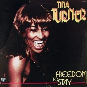 Tina Turner - Freedom To Stay (Good Hearted Woman) (LP)