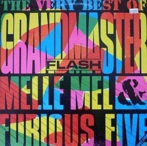 Grandmaster Flash, Melle Mel & Furious Five - The Very Best Of Grandmaster Flash, Melle Mel & Furious Five (LP)