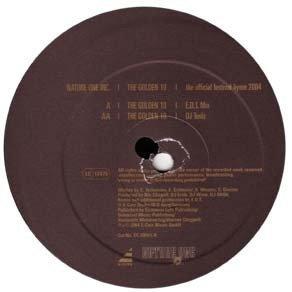 Nature One Inc. - The Golden 10 (E.D.T. Mix) (12'')