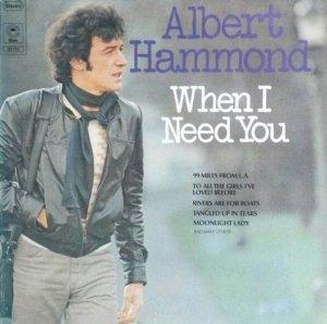 Albert Hammond - When I Need You (LP)