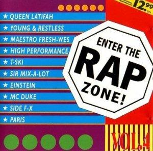 Enter The Rap Zone! Vol. 4 (CD)