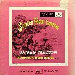 James Melton - Stephen Foster Favorites (10'')