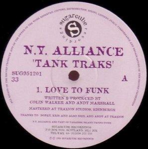 N.Y. Alliance - Tank Traks (12'')