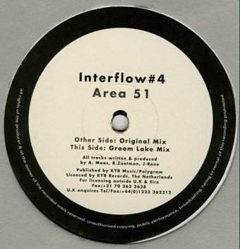 Interflow - #4 - Area 51 (12'')