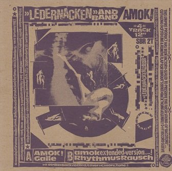 Ledernacken And Band - Amok! (12'')