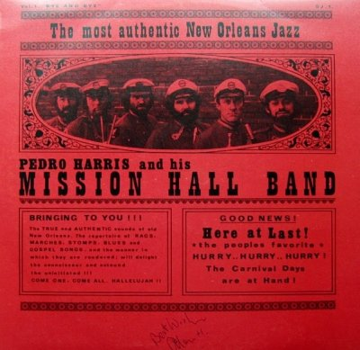 Pedro Harris And His Mission Hall Band - Vol.1 Bye And Bye (LP)