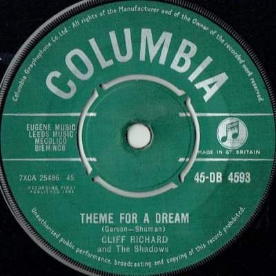 Cliff Richard And The Shadows - Theme For A Dream (7)
