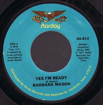 Barbara Mason / Bobby Lewis - Yes I'm Ready / Tossin' And Turnin' (7)