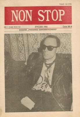 Non Stop 1 (160) Styczeń 1986 Ireneusz Dudek