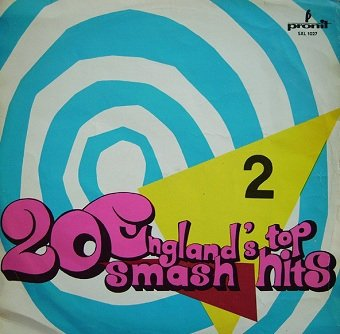 Alan Caddy – England's Top 20 Smash Hits - 2 (LP)