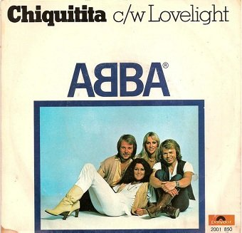 ABBA - Chiquitita c/w Lovelight (7)