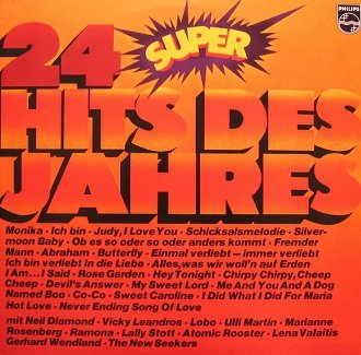 24 Super Hits Des Jahres (LP)