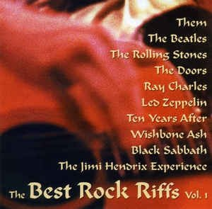 The Best Rock Riffs - Vol. 1  (CD)