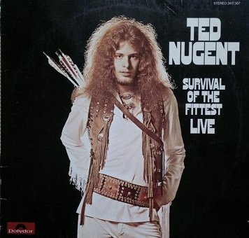 Ted Nugent - Survival Of The Fittest - Live (LP)