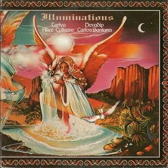 Devadip Carlos Santana & Turiya Alice Coltrane - Illuminations (LP)