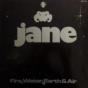 Jane - Fire, Water, Earth & Air (LP)