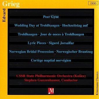 Grieg: Peer Gynt, Lyric Pieces, Sigurd Jorsalfar (CD)