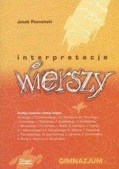 Jacek Poznański - Interpretacje Wierszy Gimnazjum
