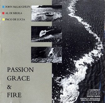 John McLaughlin, Al Di Meola, Paco De Lucia - Passion, Grace & Fire (CD)