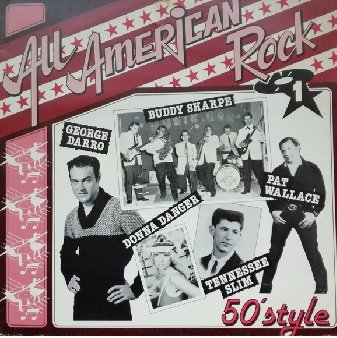 All American Rock Vol.1 - 50'style (LP)