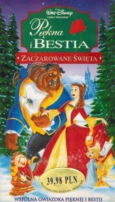 Piękna i Bestia: Zaczarowane Święta (VHS)