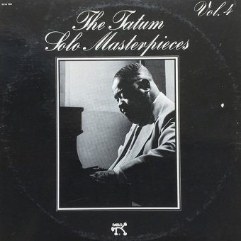 Art Tatum - The Tatum Solo Masterpieces, (Vol. 4) (LP)