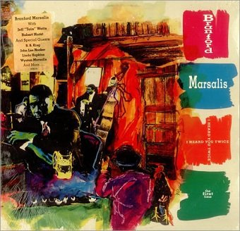 Branford Marsalis - I Heard You Twice The First Time (CD)