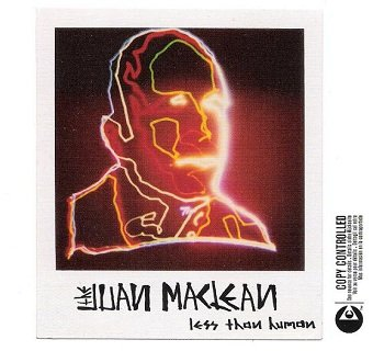 The Juan MacLean - Less Than Human (CD)