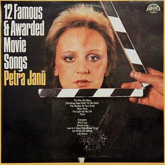 Petra Janů - 12 Famous & Awarded Movie Songs (LP)