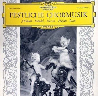 Johann Sebastian Bach - Festliche Chormusik - Club Sonderauflage (10'')