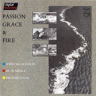 John McLaughlin, Al Di Meola, Paco De Lucia - Passion Grace & Fire (CD)