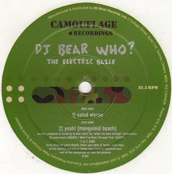 DJ Bear Who? - The Electric Baile (12'')