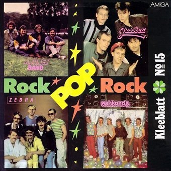 Kleeblatt № 15 - Rock Pop Rock (LP)