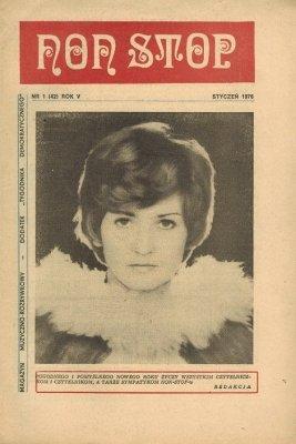 Non Stop 1 (42) (Styczeń 1976) Zofia Kamińska