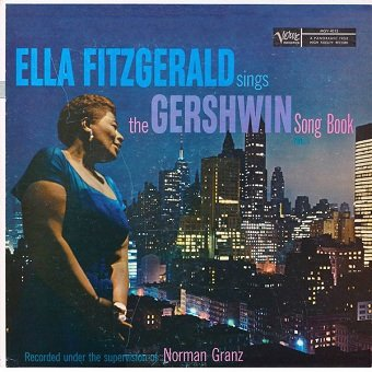 Ella Fitzgerald - Ella Fitzgerald Sings The Gershwin Song Book Vol. 1 (LP)
