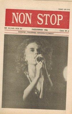 Non Stop 10 (169) Październik 1986 Katarzyna Kulda