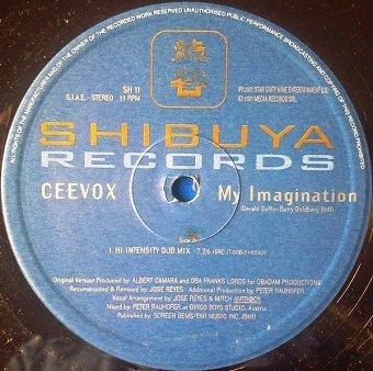 Ceevox - My Imagination (12'')