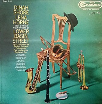 Dinah Shore, Lena Horne, Sidney Bechet, Henry Levine And His Barefoot Dixieland Philharmonic, Paul Laval And His Woodwindy Ten - NBC's Chamber Music Society Of Lower Basin Street (LP)