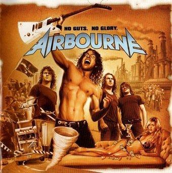 Airbourne - No Guts. No Glory.  (CD)