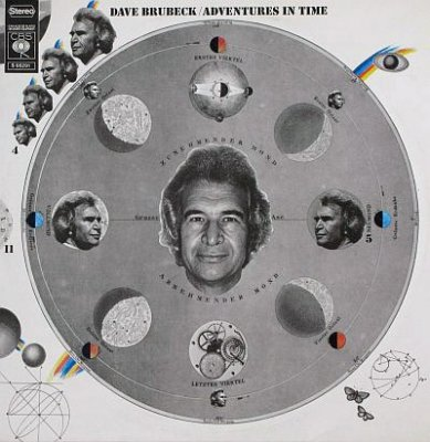 Dave Brubeck - Adventures In Time (2LP)