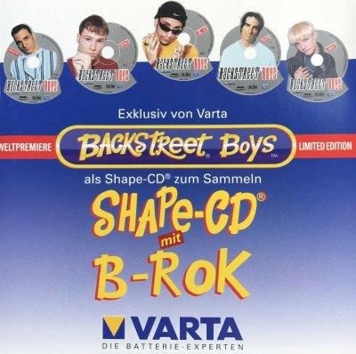 Backstreet Boys - Shape-Cd B-Rok (Maxi-CD)