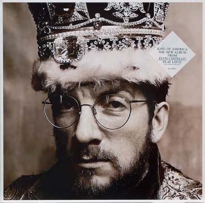 The Costello Show Ft. The Attractions And Confederates - King Of America (LP)