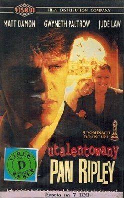 Utalentowany pan Ripley (VHS)