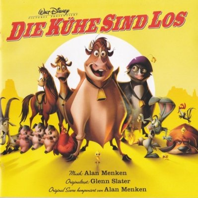 Die Kühe Sind Los (Original Film Soundtrack) (CD)